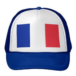 Gorra con la bandera de Francia