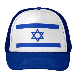Gorra con la bandera de Israel