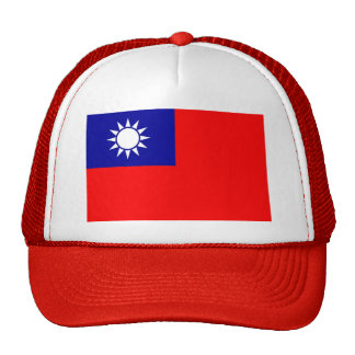 Gorra con la bandera de Taiwán