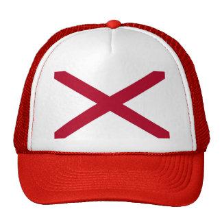 Gorra con la bandera del estado de Alabama - los E