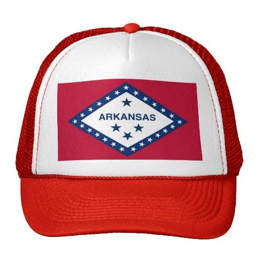 Gorra con la bandera del estado de Arkansas - los