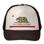 Gorra con la bandera del estado de California - lo