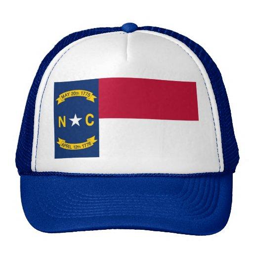 Gorra con la bandera del estado de Carolina del No