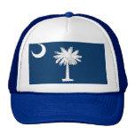 Gorra con la bandera del estado de Carolina del Su