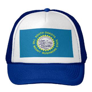 Gorra con la bandera del estado de Dakota del Sur