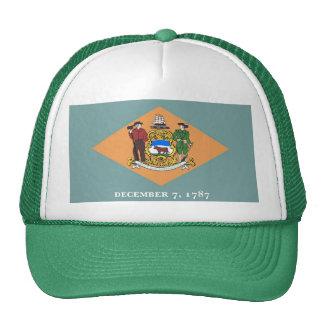 Gorra con la bandera del estado de Delaware - los