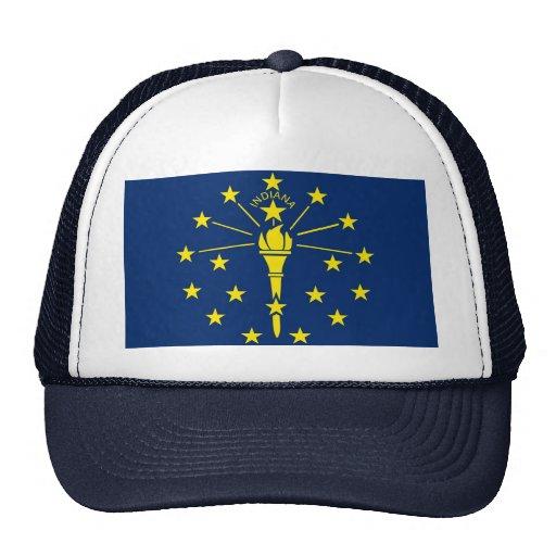 Gorra con la bandera del estado de Indiana - los E