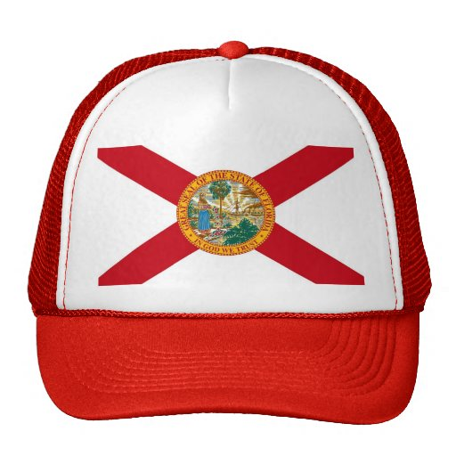 Gorra con la bandera del estado de la Florida - lo