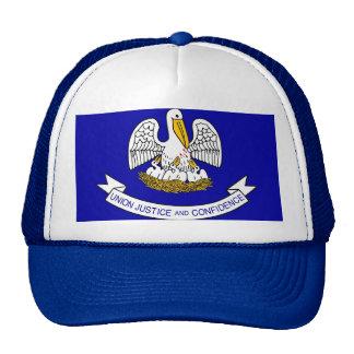 Gorra con la bandera del estado de Luisiana - los
