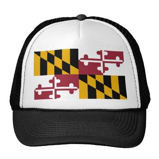Gorra con la bandera del estado de Maryland - los