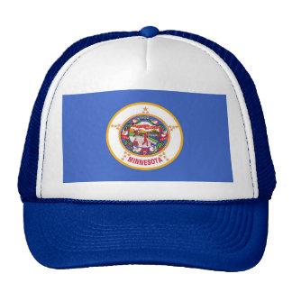 Gorra con la bandera del estado de Minnesota - los