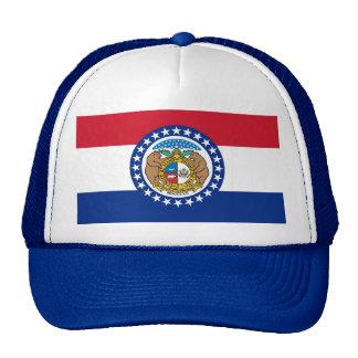 Gorra con la bandera del estado de Missouri - los