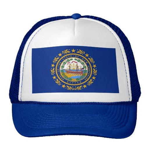Gorra con la bandera del estado de New Hampshire -