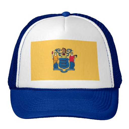 Gorra con la bandera del estado de New Jersey - lo