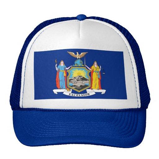 Gorra con la bandera del Estado de Nuevo York - lo