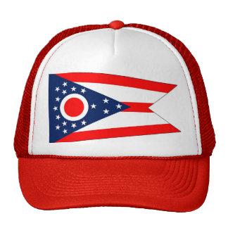 Gorra con la bandera del estado de Ohio - los E E