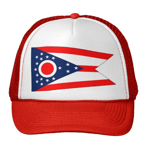 Gorra con la bandera del estado de Ohio - los E.E.