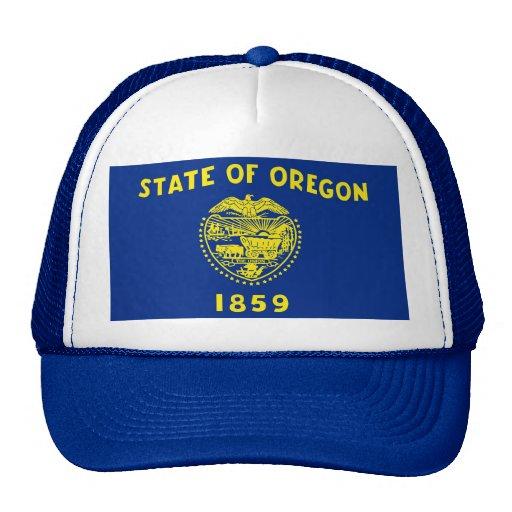 Gorra con la bandera del estado de Oregon - los E.