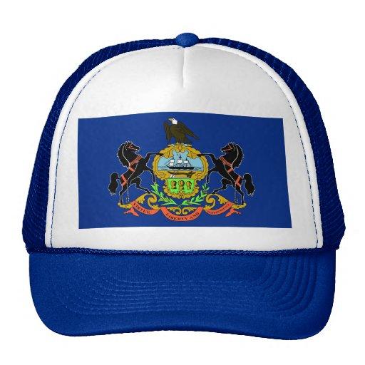 Gorra con la bandera del estado de Pennsylvania -