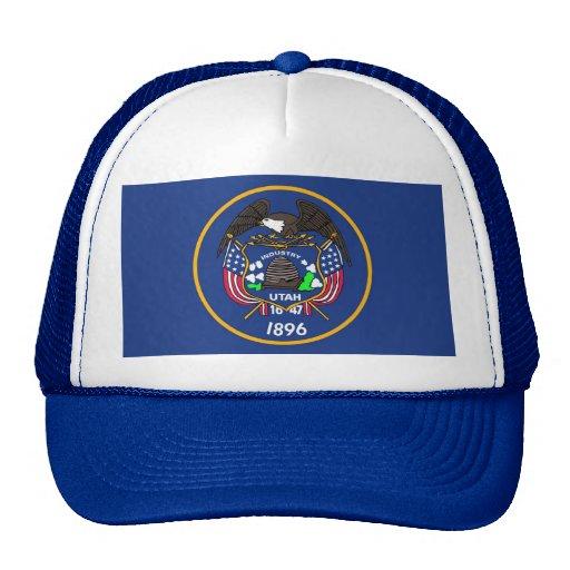 Gorra con la bandera del estado de Utah - los E.E.
