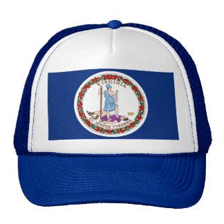 Gorra con la bandera del estado de Virginia - los