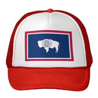 Gorra con la bandera del estado de Wyoming - los E