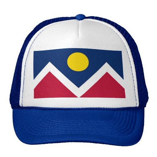 Gorra con la bandera estado de Denver, Colorado -