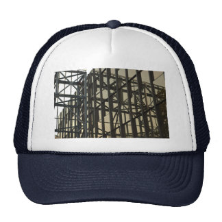 Gorra con tema moderno de la arquitectura