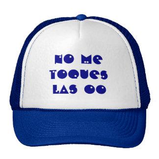 Gorra con texto de encargo personalizado