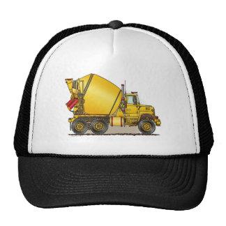 Gorra concreto del camión