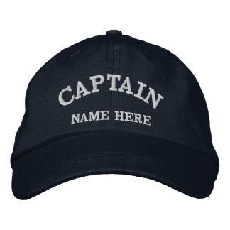 Gorra conocido del marinero de los capitanes gorra de béisbol bordada