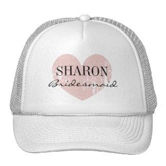 Gorra conocido personalizado de la dama de honor
