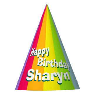 Gorra conocido personalizado del feliz cumpleaños gorro de fiesta