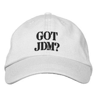 Gorra conseguido de JDM Gorras De Béisbol Bordadas
