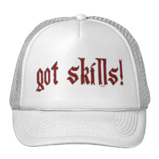 gorra conseguido de las habilidades
