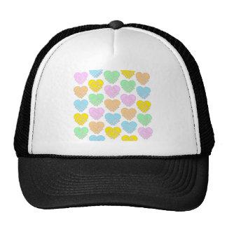 Gorra - corazones del pastel del SCC