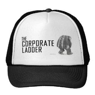 Gorra corporativo de la escalera