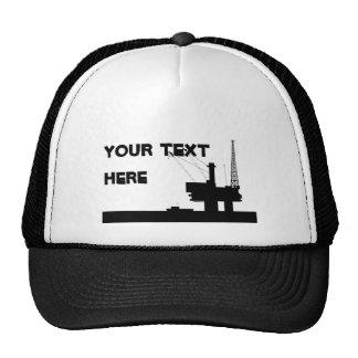 Gorra costero de la malla del aceite