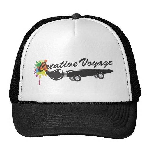 Gorra creativo del camionero del viaje