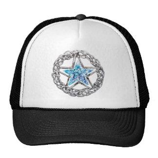 Gorra cristalino de la estrella del Pentagram