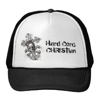Gorra cristiano del camionero del núcleo duro