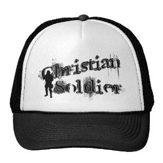 Gorra cristiano del soldado