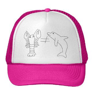 Gorra crustáceo cetáceo del camionero