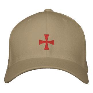 Gorra cruzado bordado Templar de los caballeros Gorras Bordadas