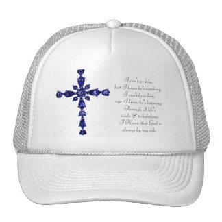 Gorra cruzado religioso