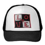 Gorra cuadrado del amor