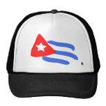 Gorra cubano de la bandera