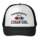 Gorra cubano del chica