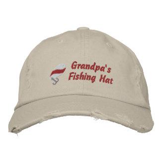 Gorra Customi de la pesca del abuelo personalizado Gorras De Béisbol Bordadas