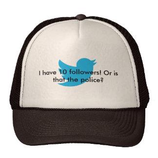 gorra de 10 seguidores
